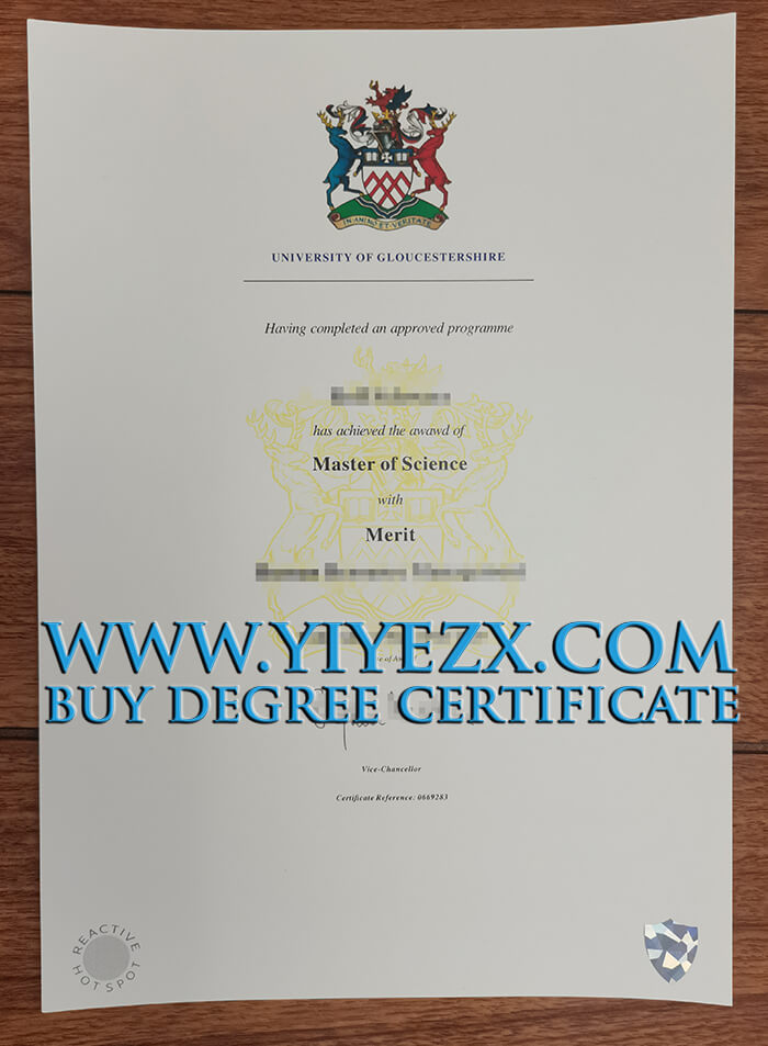Gloucester University master degree