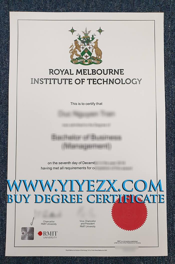 在线购买墨尔本皇家理工大学文凭, Buy fake RMIT University degree
