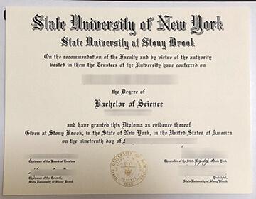 Making A Fake Stony Brook University Diploma, SUNY石溪分校学位证书出售