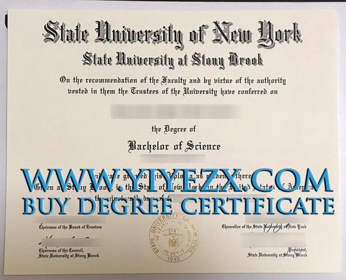 Stony Brook University Diploma, SUNY石溪分校学位证书出售