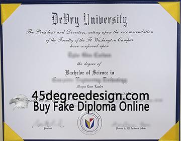 在线购买德瑞大学文凭, Order a fake DeVry University diploma online