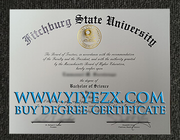 在线购买假的菲奇堡州立大学文凭, Buy fake Fitchburg State University diploma certificate
