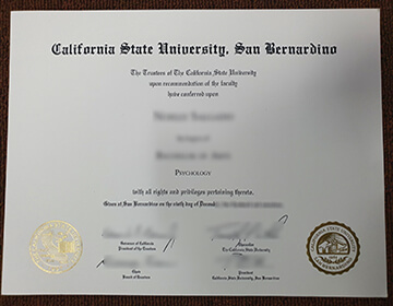 How to get a fake CSUSB diploma?专业办理美国文凭成绩单