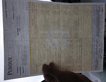 How to Create a fake Purdue University transcript, 普渡大学成绩单补办