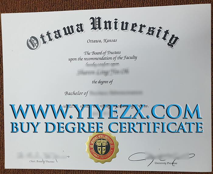 fake Ottawa University (OU) diploma 渥太华大学文凭出售