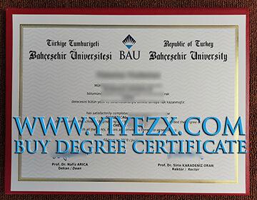 Order A Fake Bahçeşehir University diploma, Buy BAU diploma in Turkey