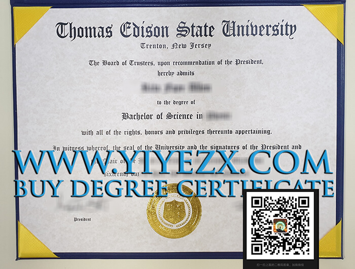 托马斯爱迪生州立大学假文凭办理, Purchase a fake Thomas Edison State University diploma