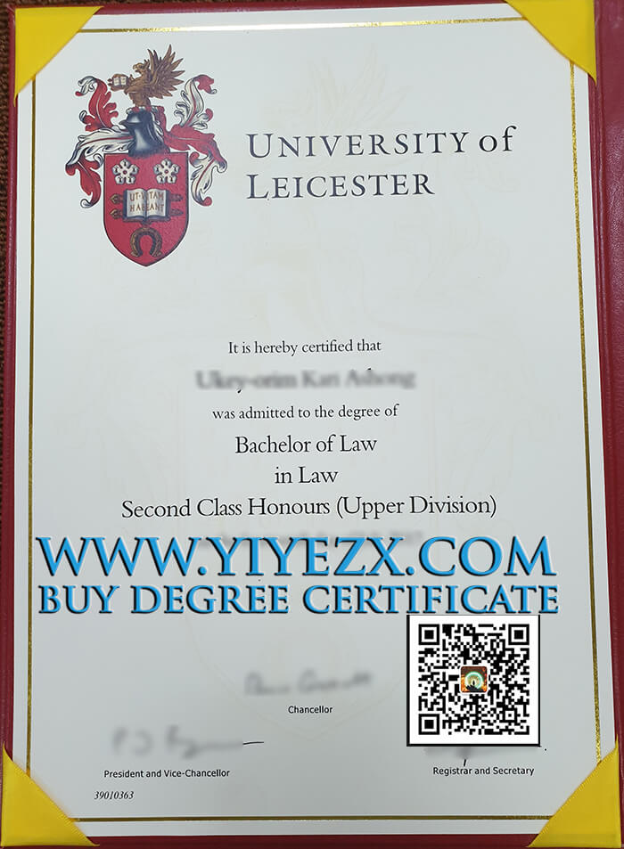 University of Leicester Degree