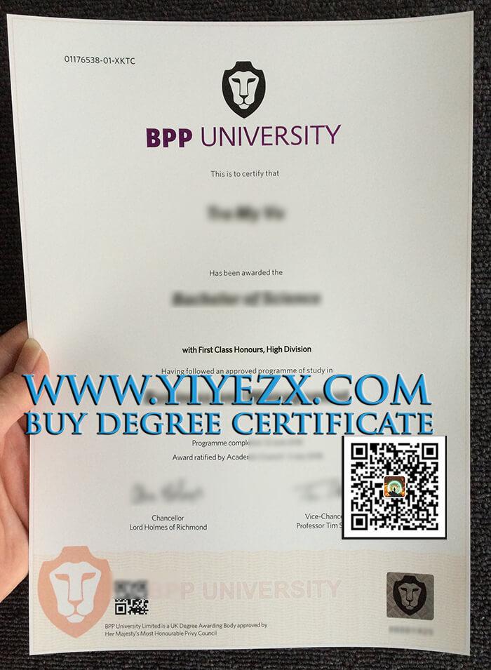 BPP University Fake Diploma
