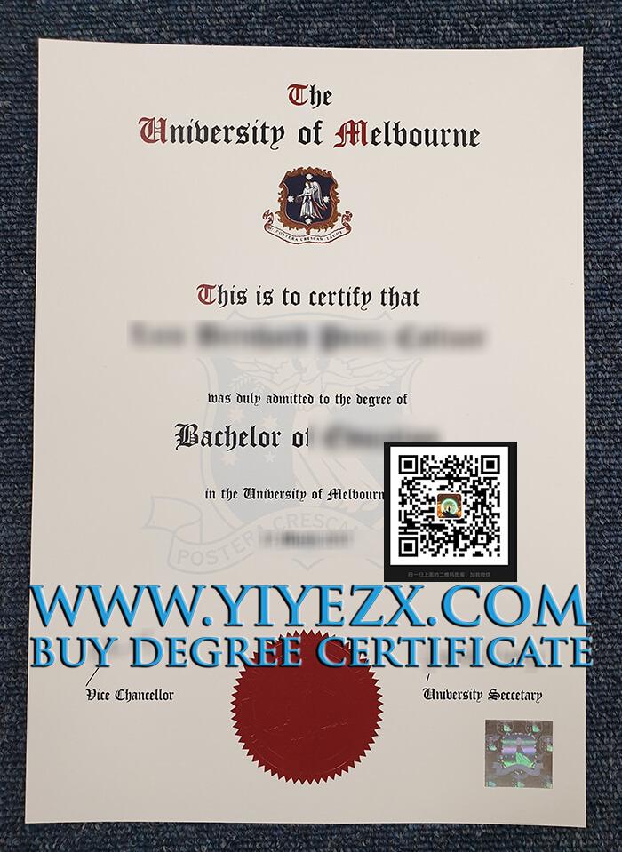 University of Melbourne degree