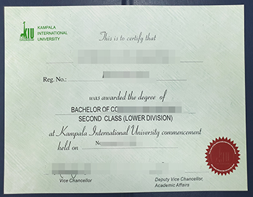 How people buy a fake Kampala International University diploma online,购买坎帕拉国际大学文凭