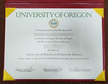 How to buy fake University of Oregon Diploma? 购买俄勒冈大学文凭