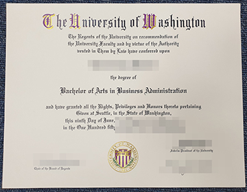 How to purchase fake University of Washington Diploma online? 华盛顿大学文凭成绩单定制