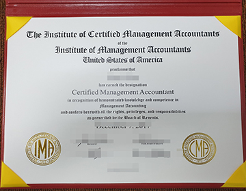 Buy fake Institute of Certified Management Accountants diploma, CMA certificate order