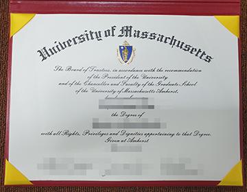 fake University of Massachusetts College certificate/diploma online? 马萨诸塞大学学院证书/文凭