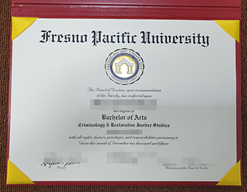 How to buy a fake Fresno Pacific University diploma? 购买弗雷斯诺太平洋大学文凭