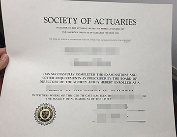 Where can I purchase fake SOA certificate?