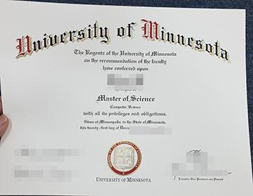 How to buy University of Minnesota diploma online, 明尼苏达大学文凭办理