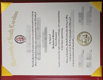 Where to purchase a fake University of South Carolina certificate? 南卡罗来纳大学证书办理