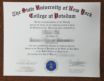Buy Fake SUNY Potsdam degree? 购买纽约州立大学波茨坦分校学位