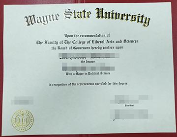 How to Get Fake Wayne State University Diploma? 韦恩州立大学文凭出售