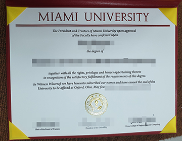 Can I buy a fake Miami University degree in the US? 购买迈阿密大学学位