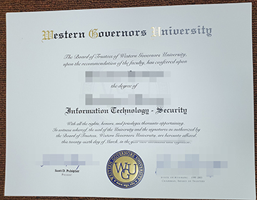 Where can I buy fake Western Governors University Diploma,定制西部州长大学毕业证