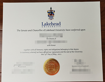 Buy Fake Lakehead University Diploma online from Canada,  湖首大学文凭制作
