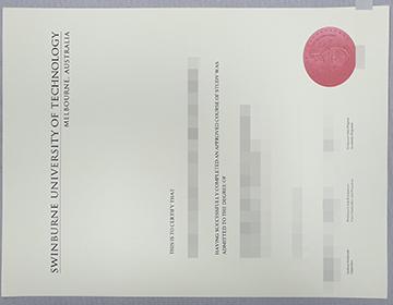 Purchase a fake Swinburne University of Technology degree, 购买斯威本科技大学学位