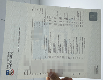 Order a fake University of Adelaide transcript, 阿德莱德大学成绩单出售