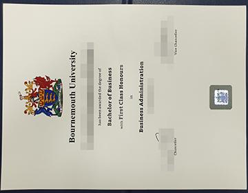 在线购买伯恩茅斯大学学位, Where to purcahse a Bournemouth University fake degree online