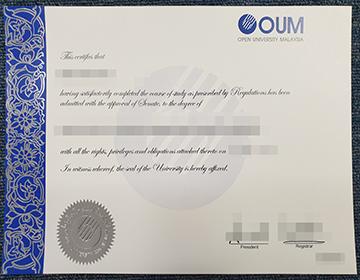 Where can I buy a fake Open University Malaysia degree?我在哪里可以买到假的马来西亚开放大学学位?