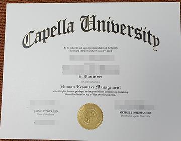 How to buy a Capella University diploma certificate in the USA? 购买卡佩拉大学证书