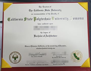Where to Buy a fake Cal Poly Pomona Diploma,  Cal Poly 文凭出售