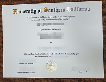 Can I buy a fake University of Southern California Diploma to apply the job? 南加州大学文凭制作