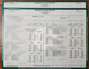 How to buy fake Argosy University transcript, Buy fake diploma online 如何购买假阿戈西大学文凭