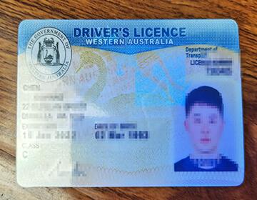 Buying  Western Australia Driver's License, 购买西澳大利亚驾照的步骤