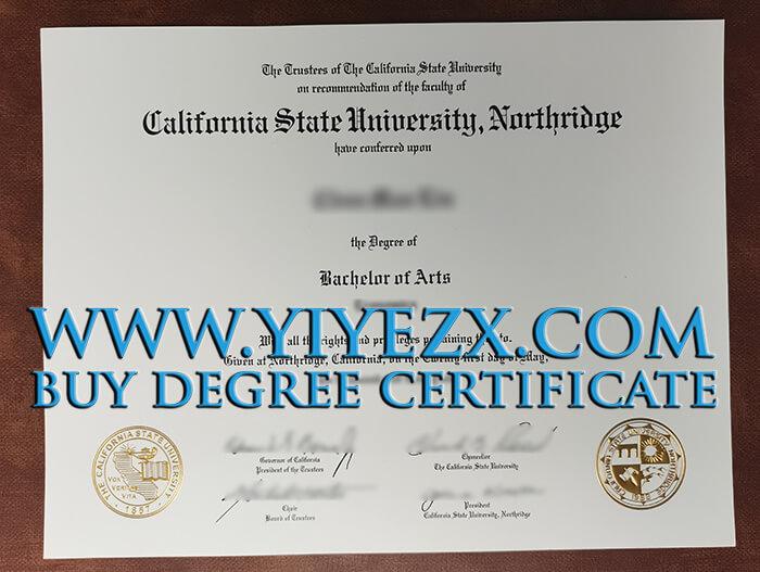 order a fake CSUN BA Degree, 加州州立大学北岭分校毕业证书