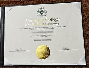 Buy fake Algonquin College diploma in 2021