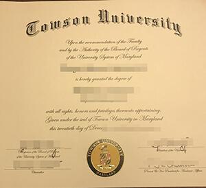 How to buy Towson University fake diploma, 陶森大学学位证书出售
