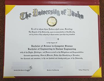 How much to buy a fake University of Idaho degree? 爱达荷大学学位要多少钱?