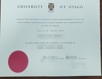 What's Right About Purchase a fake University of Otago degree, 奥塔哥大学学位