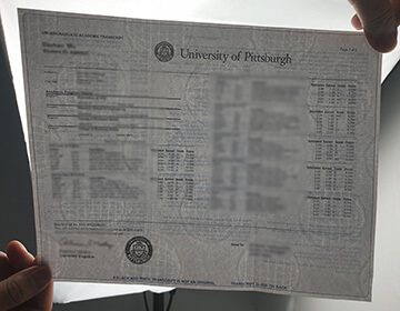 How to buy a realistic University of Pittsburgh trranscript in USA?