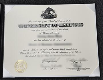 Buy a high-quality UIUC diploma, 定制伊利诺伊大学厄巴纳-香槟分校文凭成绩单