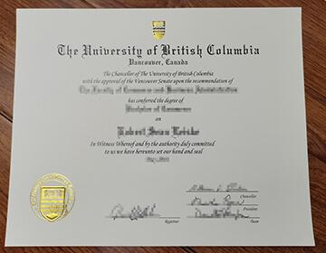 Getting a fake UBC Degree, 出售不列颠哥伦比亚大学文凭