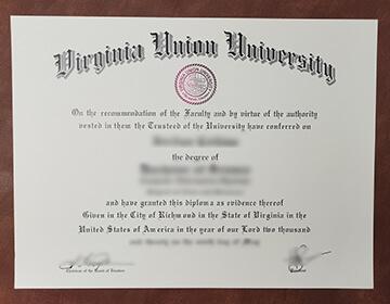 Buy a VUU fake diploma online, 弗吉尼亚联合大学文凭定制