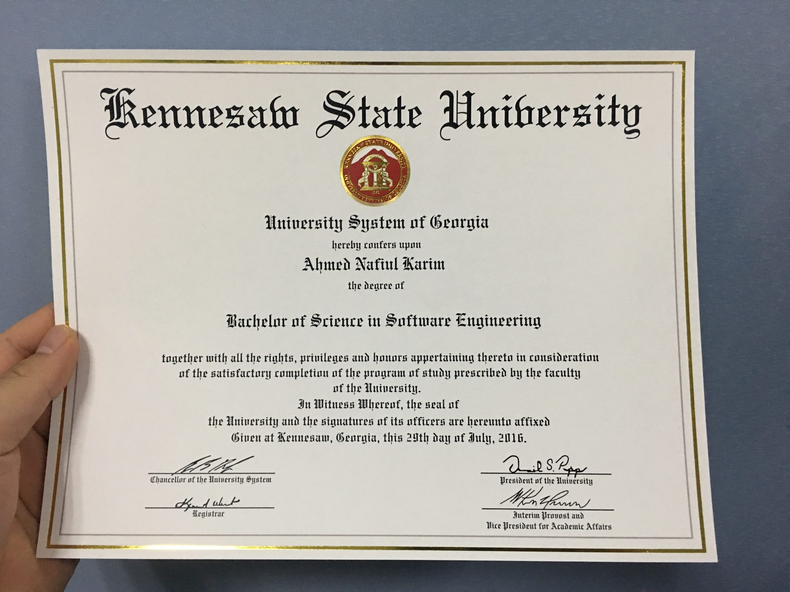 Where to purchase a false Kennesaw State University degree online?