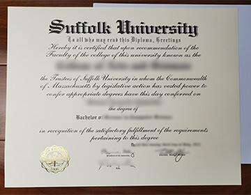 Buy a false Suffolk University diploma online, 萨福克大学文凭原版制作