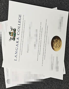 How to buy a fake Langara College diploma in Canada? 如何在加拿大购买假的Langara College文凭?
