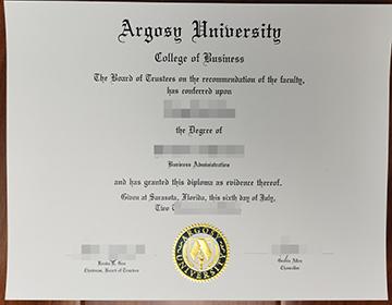 How much to purchase a fake Argosy University degree? 阿戈西大学学位出售?